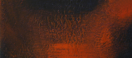 Fire orange & black background texture - panoramic abstract design.