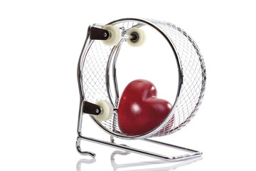 Red heart in a hamster wheel: athlete's heart syndrome