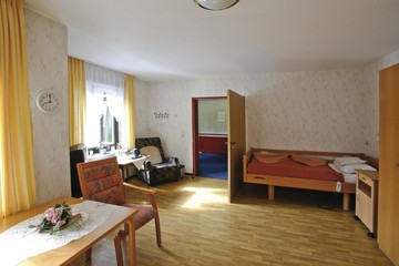 Room in an old-age home, nursing home