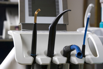 Instruments in a dental practise