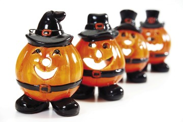 Halloween pumpkins (Jack-O-Lanterns) tea light holder, party decoration