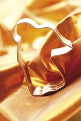 Angel shaped Christmas cookie cutter