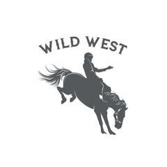 Wild west rodeo template