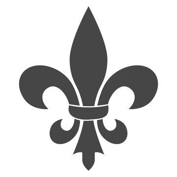 Fleur de lis icon, Fleur-de-lis sign