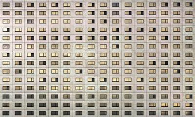 Hochhaus Fassade