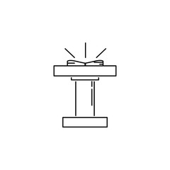 church platform icon