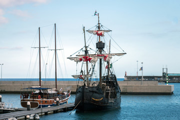 Replica of Portuguese Caravel