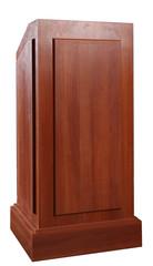 Wood Podium Tribune Rostrum Stand