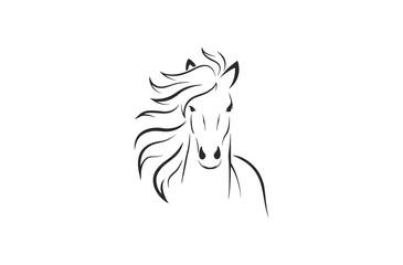 Horse Logo Vector
