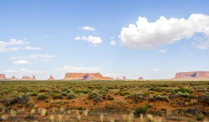Monument Valley panorama - Arizona, AZ, USA