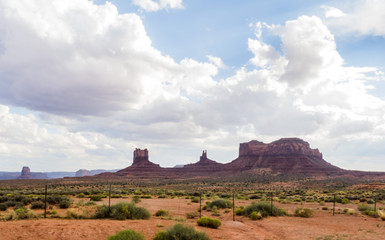 Monument Valley panorama - Arizona, AZ, USA