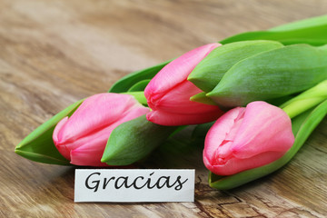 how to say gracias in spanish