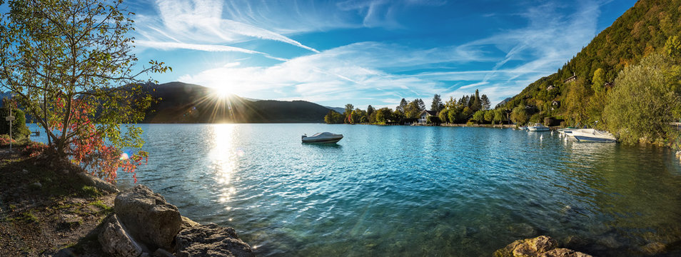 Lac d' Annecy See bei Talloires