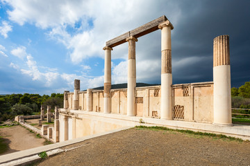 Abaton of Epidaurus, Greece