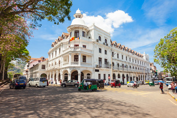 British building in Kandy