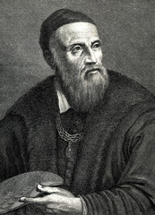 Titian, italian painter (from Spamers Illustrierte Weltgeschichte, 1894, 5[1], 127)
