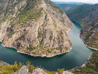 Staande foto Canyon Spectacular view of Sil river canyon in the province of Ourense, Galicia, Spain