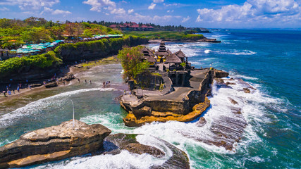 Fotorolgordijn Bali Tanah Lot - Temple in the Ocean. Bali, Indonesia.