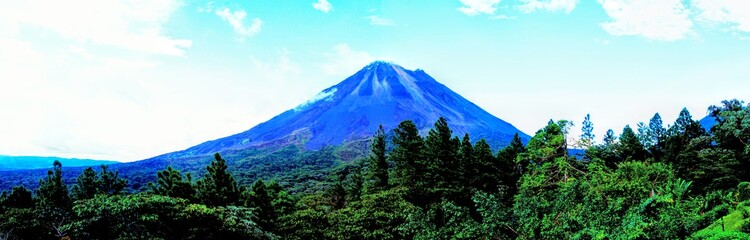 Arenal active volcano of Costa Rica