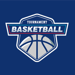 Basketball Logo Emblem