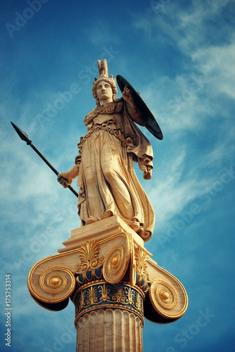 Wall mural Athena statue