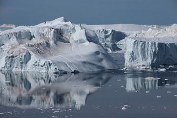 Printed kitchen splashbacks Glaciers Gletscher in der Diskobucht