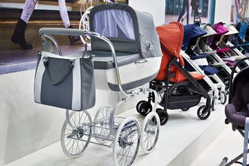 Modern baby strollers
