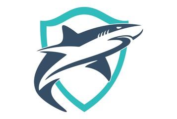 shield shark logo