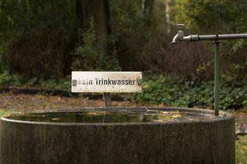 Anlage zur Grabpflege auf einem Friedhof in Berlin
