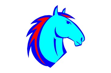 hungry horse head logo