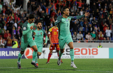 2018 World Cup Qualifications - Europe - Andorra vs Portugal