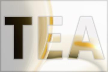 Tea in the symbol