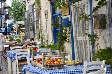 Colors and Looks of Summer in Alacati, Izmir, Turkey