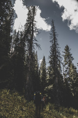 Backpacking in the Indian Peaks Wilderness in Colorado