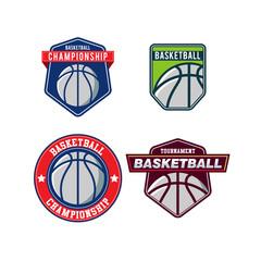 Basketball Vector Logo Set