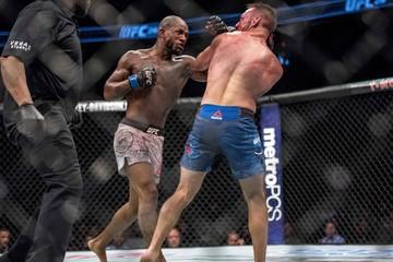 MMA: UFC 216-Vannata vs Green
