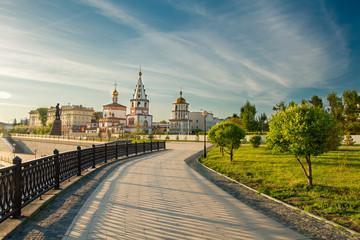 Church in the city of Irkutsk