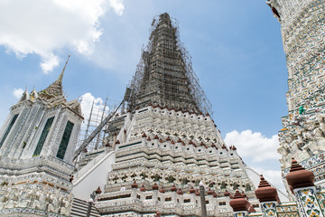 BANGKOK, THAILAND-17 June 2017, The iconic Temple of Dawn, Wat Arun, Bangkok, Thailand.