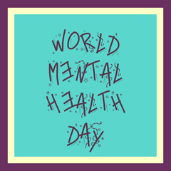 Mental Health Day.