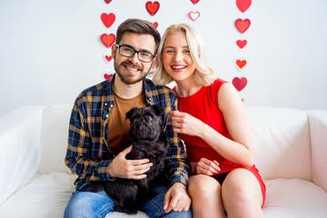 Couple on valentine day