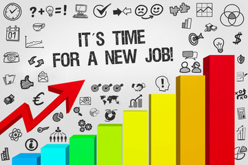 It´s Time for a new Job! / Diagramm mit Symbole