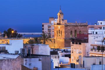 Almeria Cathedral at dawn