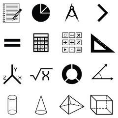 math icon set