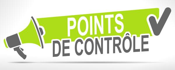 Fototapete - points de contrôle sur mégaphone