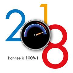 2018 - énergie - motivation - entreprise - challenge - objectif - compteur