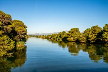 S'Albufera Natural Park lagoon, Mallorca