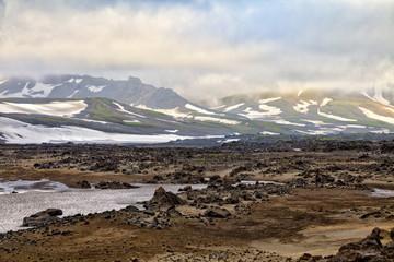 Nature of Kamchatka (mountains, volcanoes, ocean)