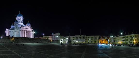 Helsinki Senate square panorama