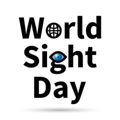 World Sight Day vector icon.