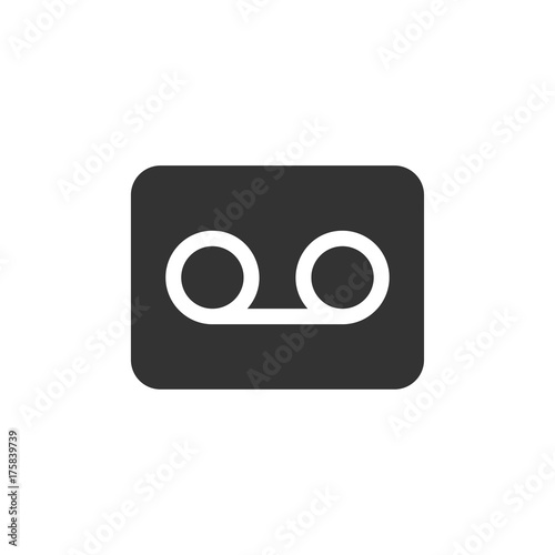 communication glyph voicemail icon stock image and royalty free